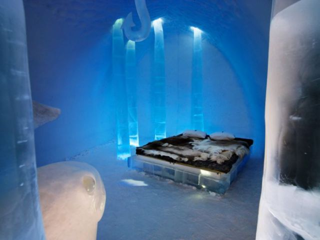 Spectacular Icehotel in Sweden