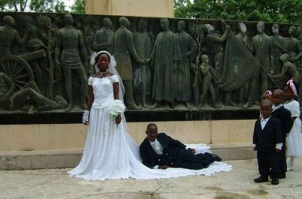 Off the Wall Wedding Pictures