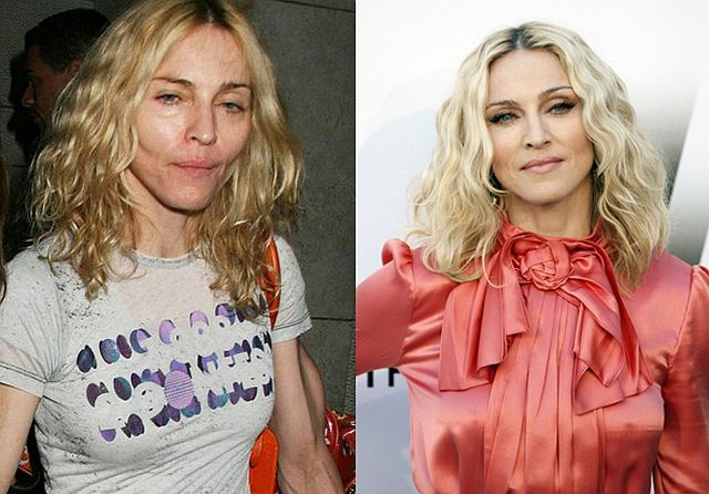 The Real Face of Female Celebs