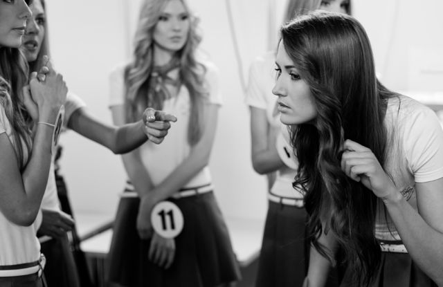 Beautiful Miss Belarus Participants Prepare