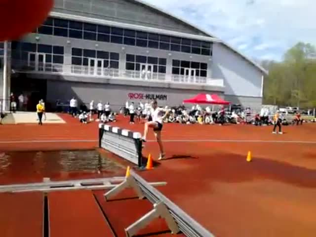 Epic Double Hurdling Fail