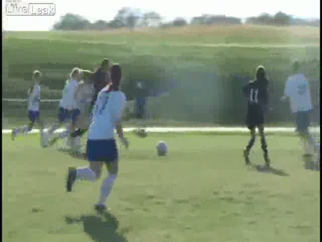 Women's Soccer Can Be Violent