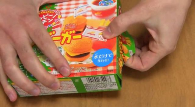 DIY Doll-Sized Candy Hamburgers from Japan
