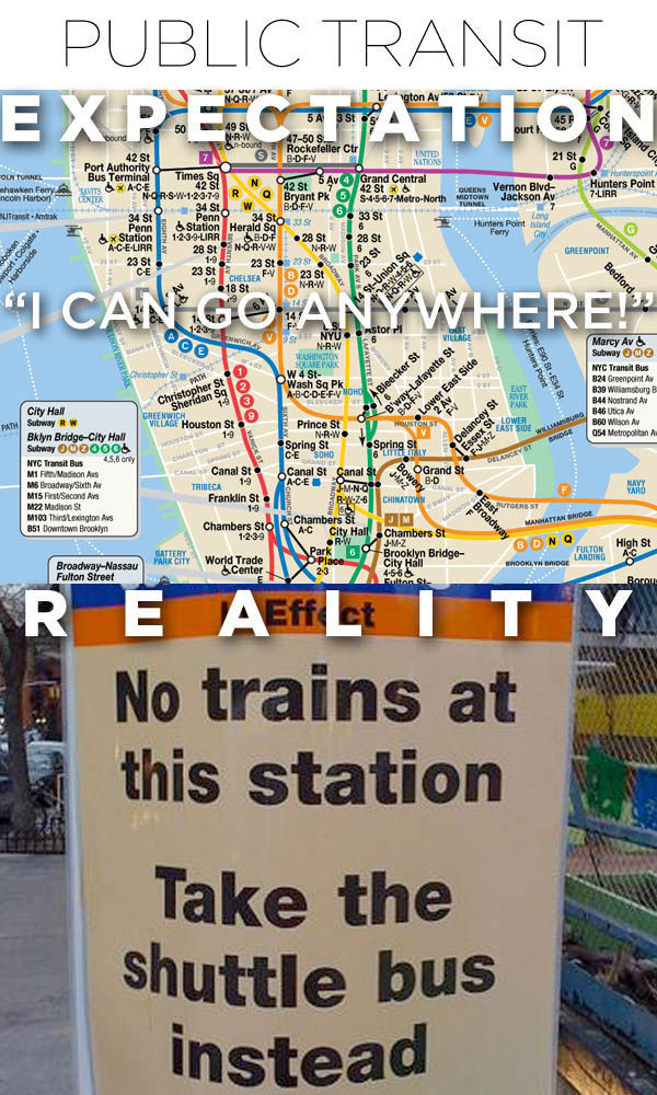 Living in NYC: When Expectations Don't Meet the Reality