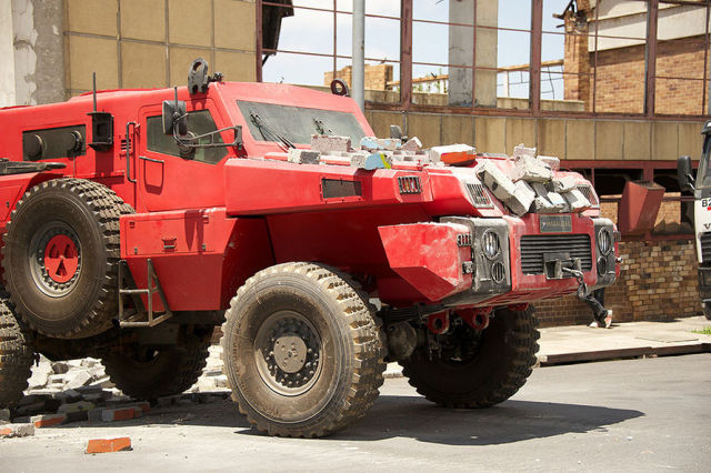 Marauder Armored Vehicle is a Car for the Real Tough Guys