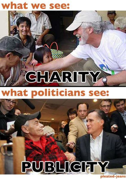 Normal People vs. Politicians