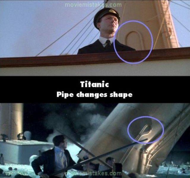 Titanic Movie Mistakes