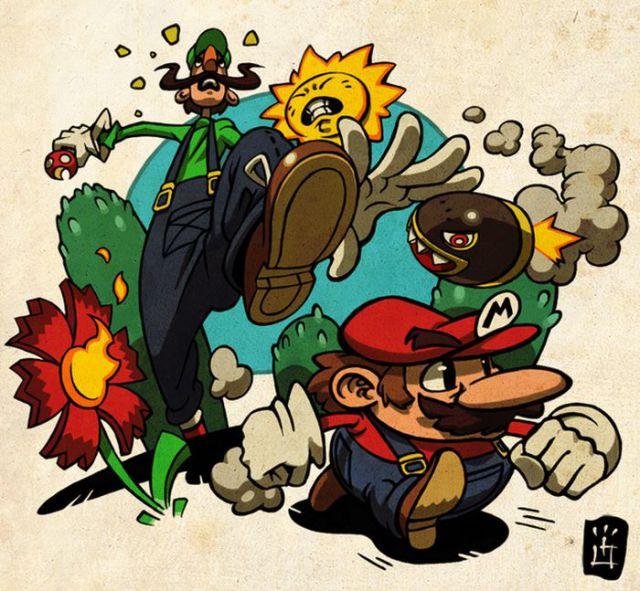awesome super mario bros fan art 97 pics picture 48 izismile com