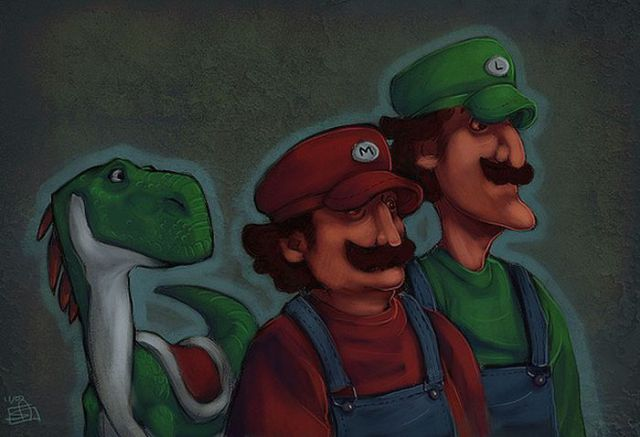 Awesome Super Mario Bros. Fan Art