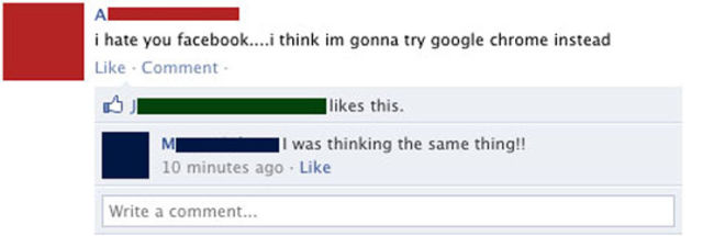 Facebook Proves Some People are Dumb