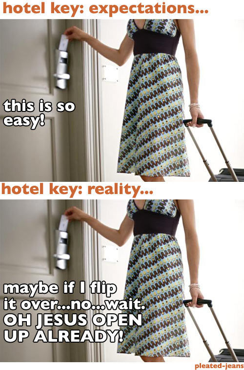 What You Expect vs. What You Really Get When Living in a Hotel