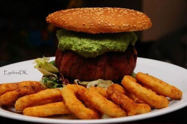 A Cheeseburger Patty to Give You Meat Overdose