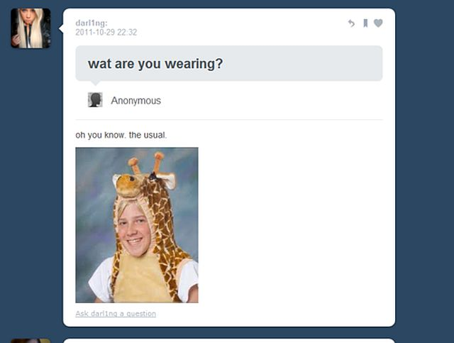 Snarky Tumblr Comment Replies