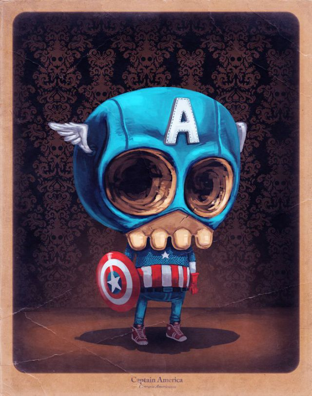Awesome Pop Culture Painted Pictures