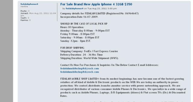 For Sale Brand New Apple Iphone 4