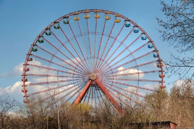 Desolate Amusement Parks