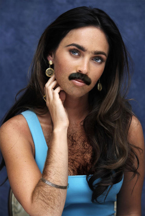 Famous Women Sprout Beards (14 Pics)
