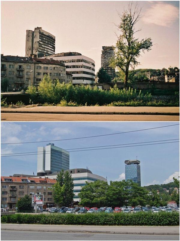 Sarajevo Rebuilt after the 90s' Siege