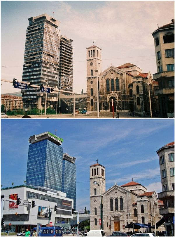 Sarajevo Rebuilt after the 90s' Siege