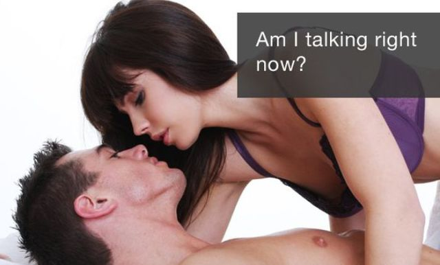 What You Say vs. What You Really Mean While Having Sex