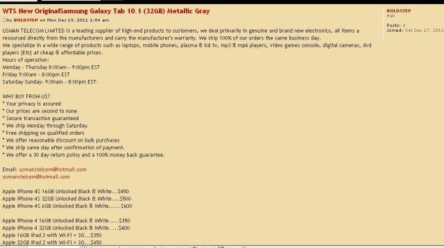 WTS New OriginalSamsung Galaxy Tab