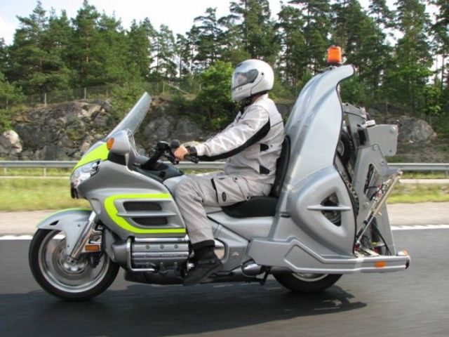 Motorcycle That Can Tow Stalled Cars