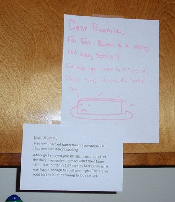 Passive Aggressive Notes To Reproach Your Roommate (14