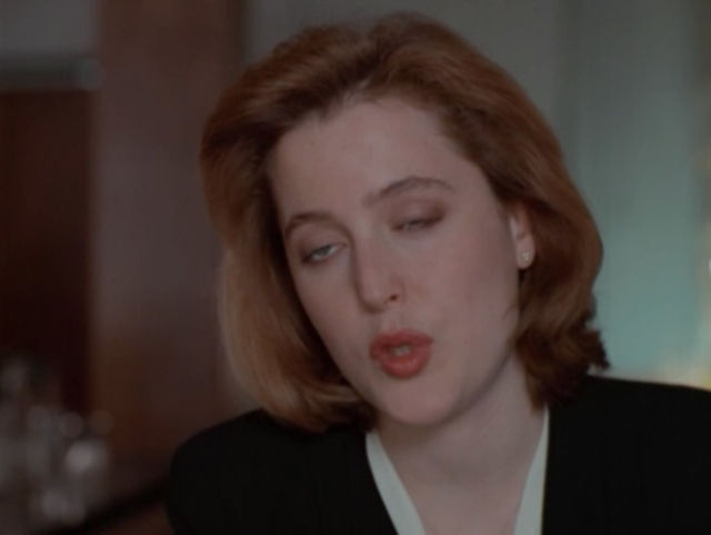 Special Agent Dana Scully's Seductive Eyes