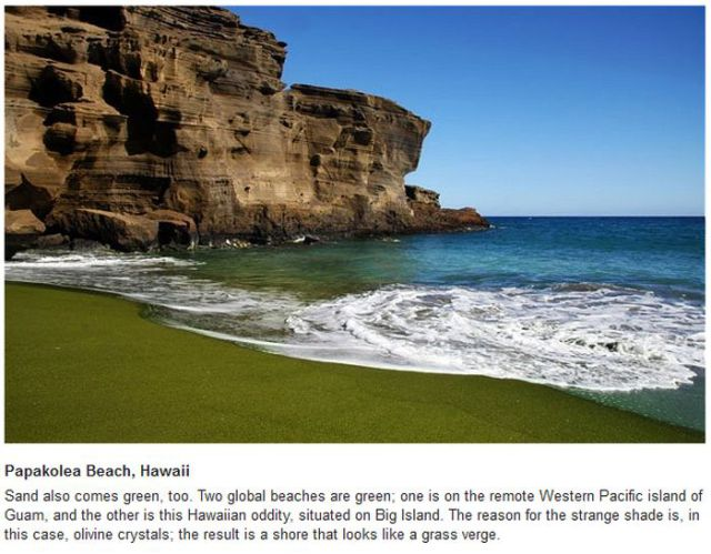 The Strangest Beaches in the World