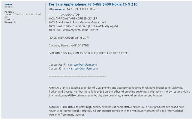 For Sale Apple iphone 4S