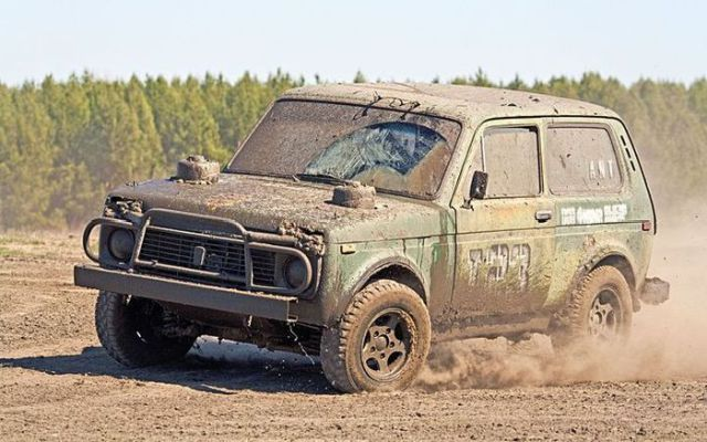 Really Dirty Cars from Russia