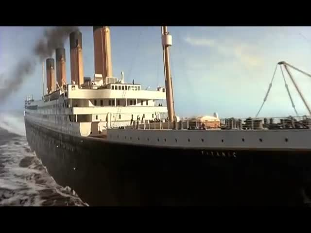 Titanic in super 3D