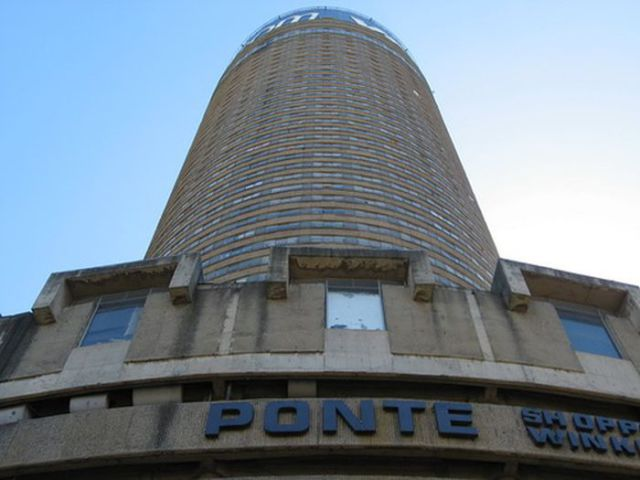 Decaying Skyscraper of Ponte City