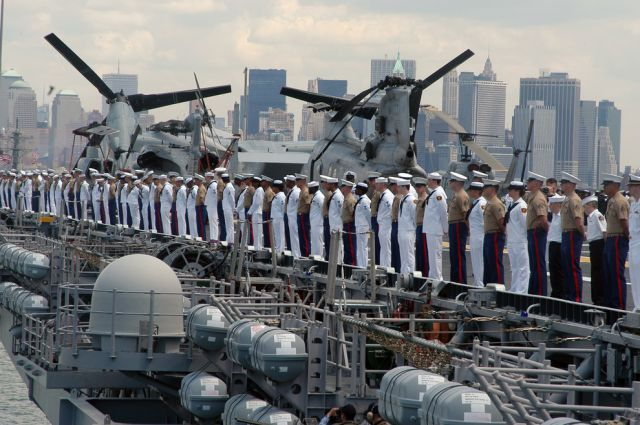 Life Is Cool in the Navy