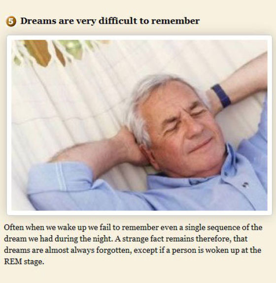 Curious Things About Dreams. Part 2