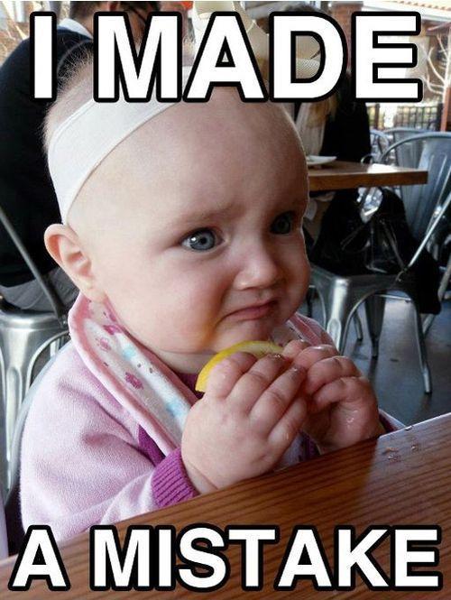 Funny Kid Discovers a Lemon