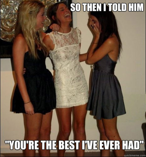 The Funniest of the Vindictive Girls Meme