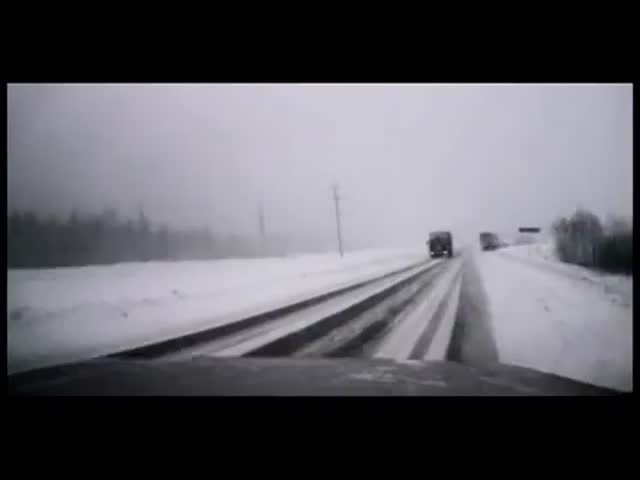 Driver Almost Dies - Is Calm as F*ck