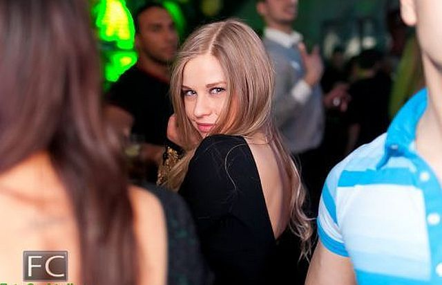 Cute Russian Club Girls Seem to Love Creepy Guys. Part 2