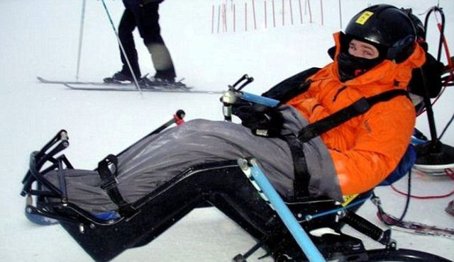 Disabled Guy Takes Up Extreme Sports