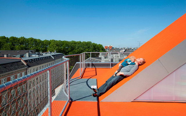 Mesmerizing Rooftop Playground in Denmark