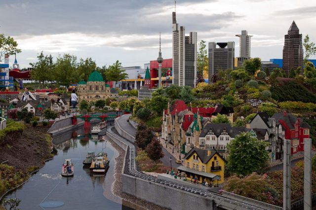 The Craziest Lego Model is in Germany's Legoland
