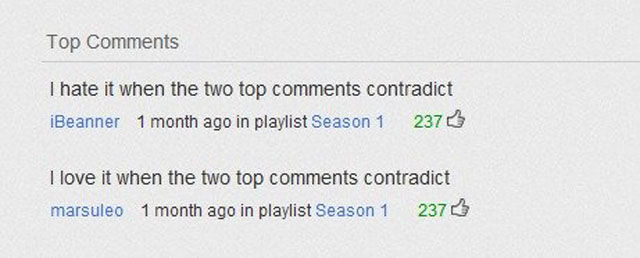 YouTube Comments Worth Reading. Part 2