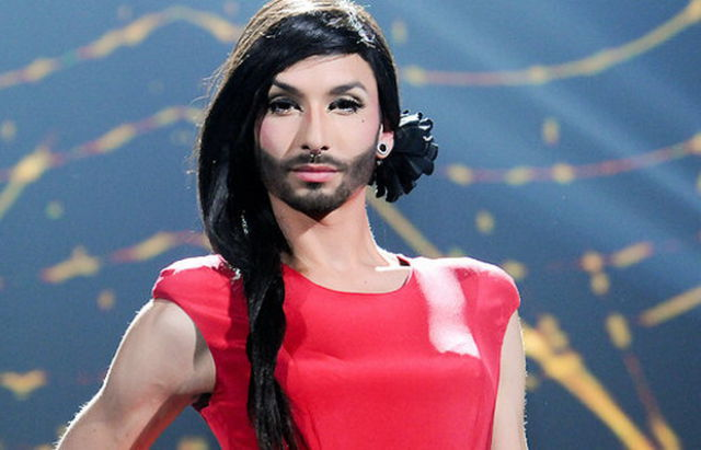 Conshita Wurst Tries Out for Eurovision