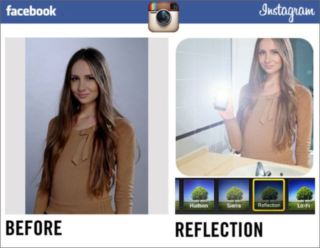 Instagram Filters Designed Specially for Facebook