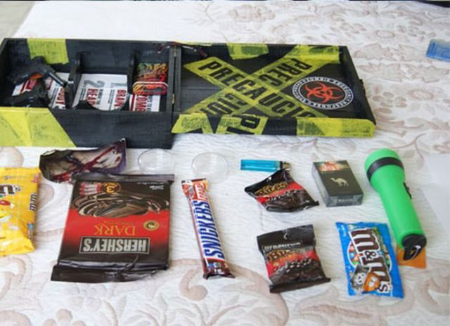 Personal Zombie Survival Kit