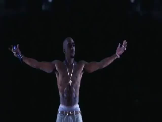 2Pac's Back as a Hologram at Coachella Festival 2012