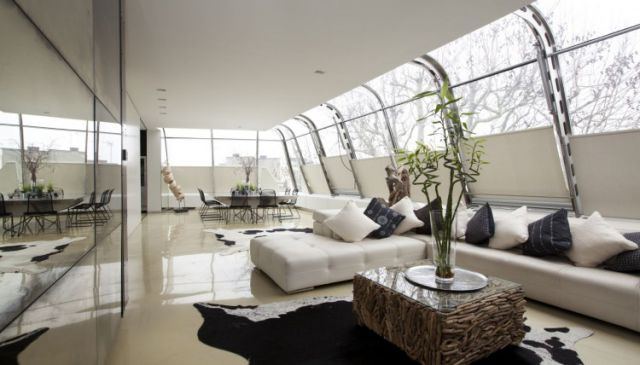 Incredible Glass Penthouse in London