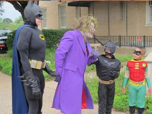 Kid Becomes a Real Batman for One Day