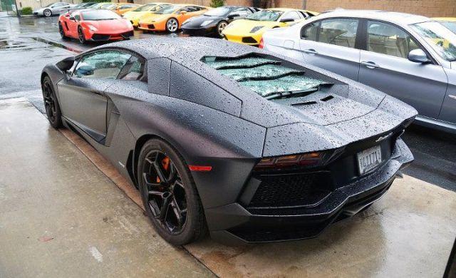 When Driving a Lamborghini Goes Wrong